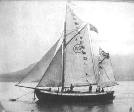 Colin Archer zeilschip Noorwegen reddingsdienst ontwerp zeilen Baltic