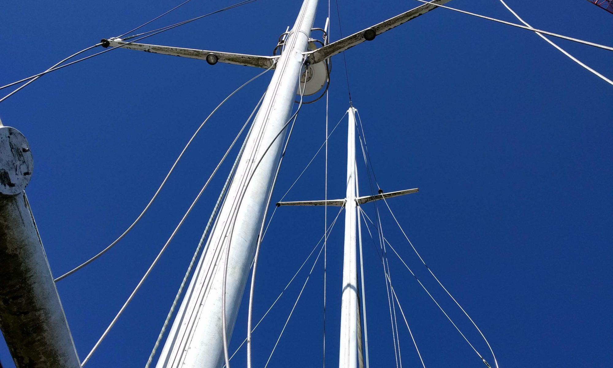 Baltic zeilschip zeilen refit SeaWind Adventures
