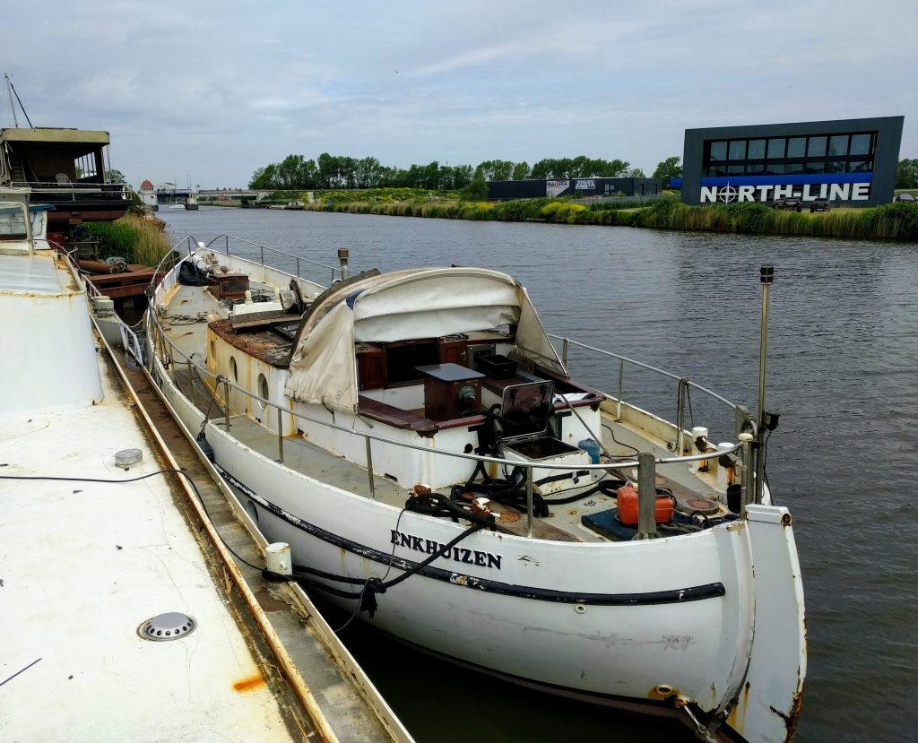 zeilschip Baltic refit