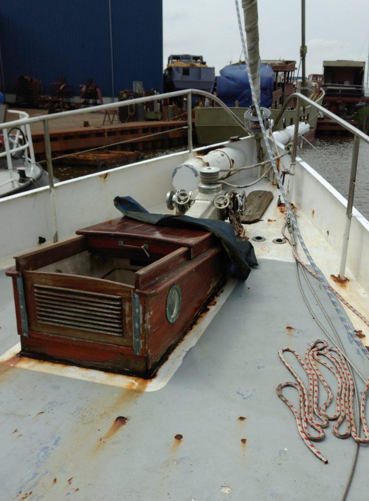 zeilschip Baltic opbouw voorpiek