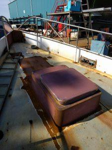 zeilschip Baltic voorpiek opbouw