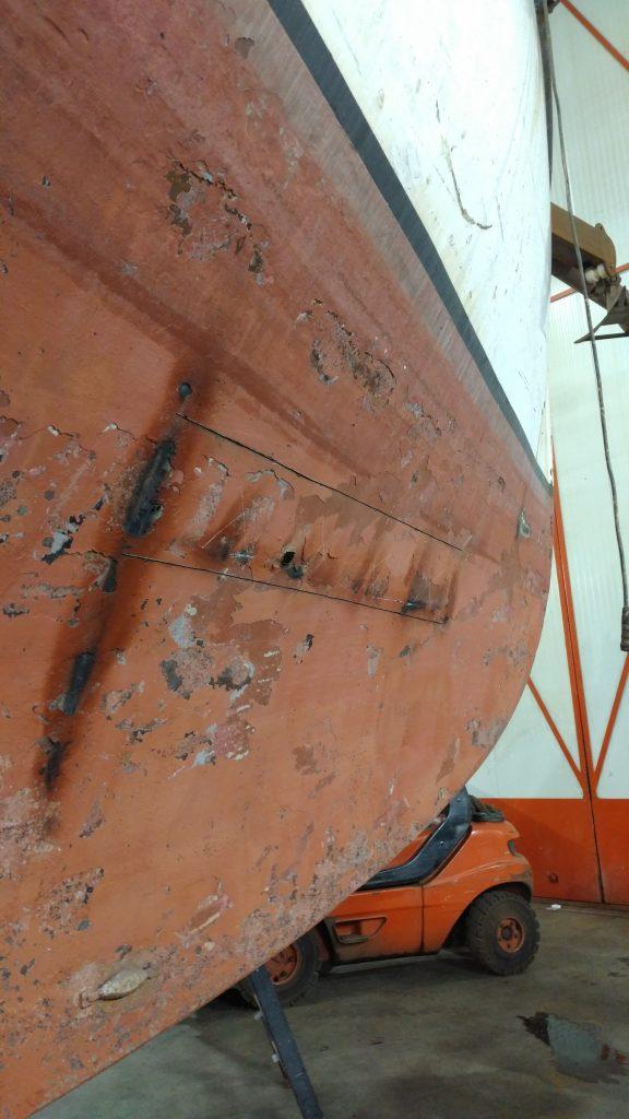 Baltic zeilschip refit