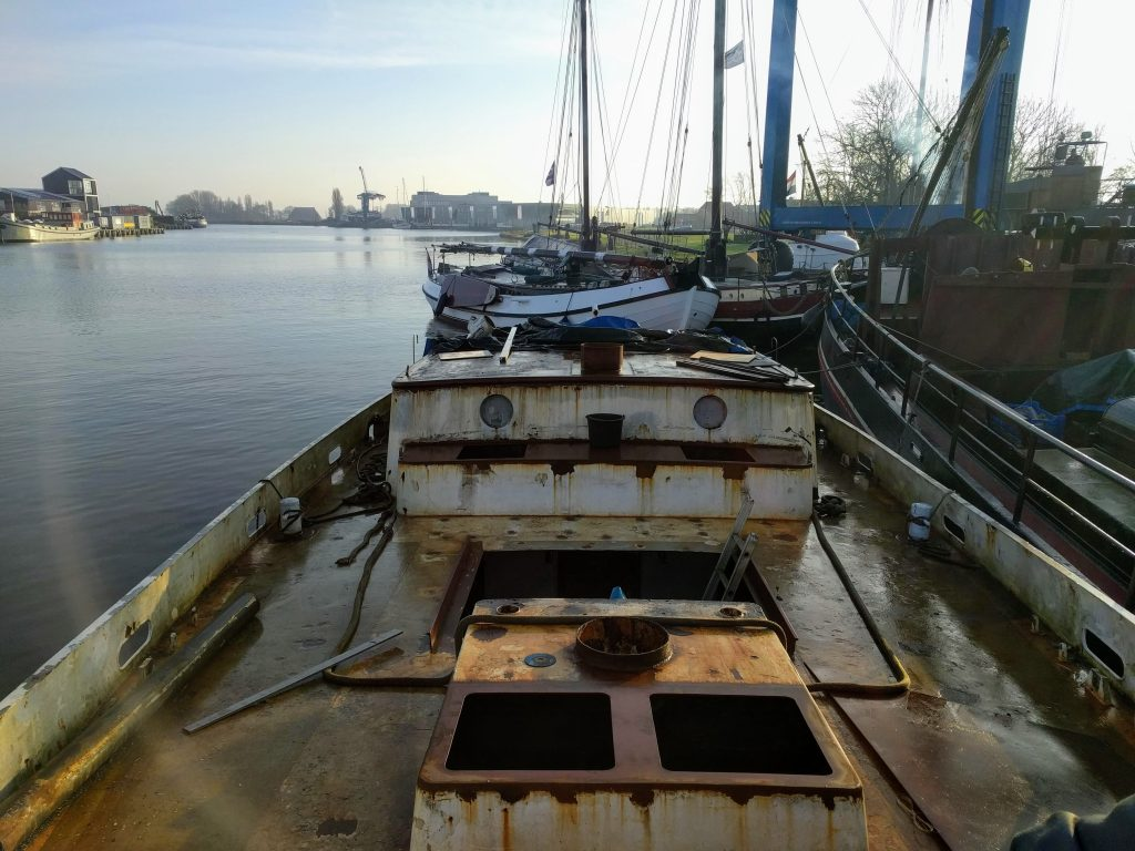 Baltic zeilschip refit zeilen Colin Archer tweemaster SeaWind Adventures