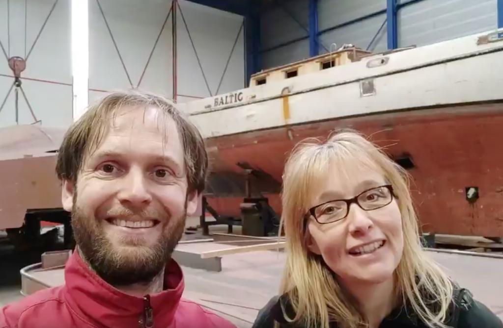 Baltic SeaWind Adventures zeilschip zeilen refit Colin Archer Marijn Achterkamp Annet Talsma