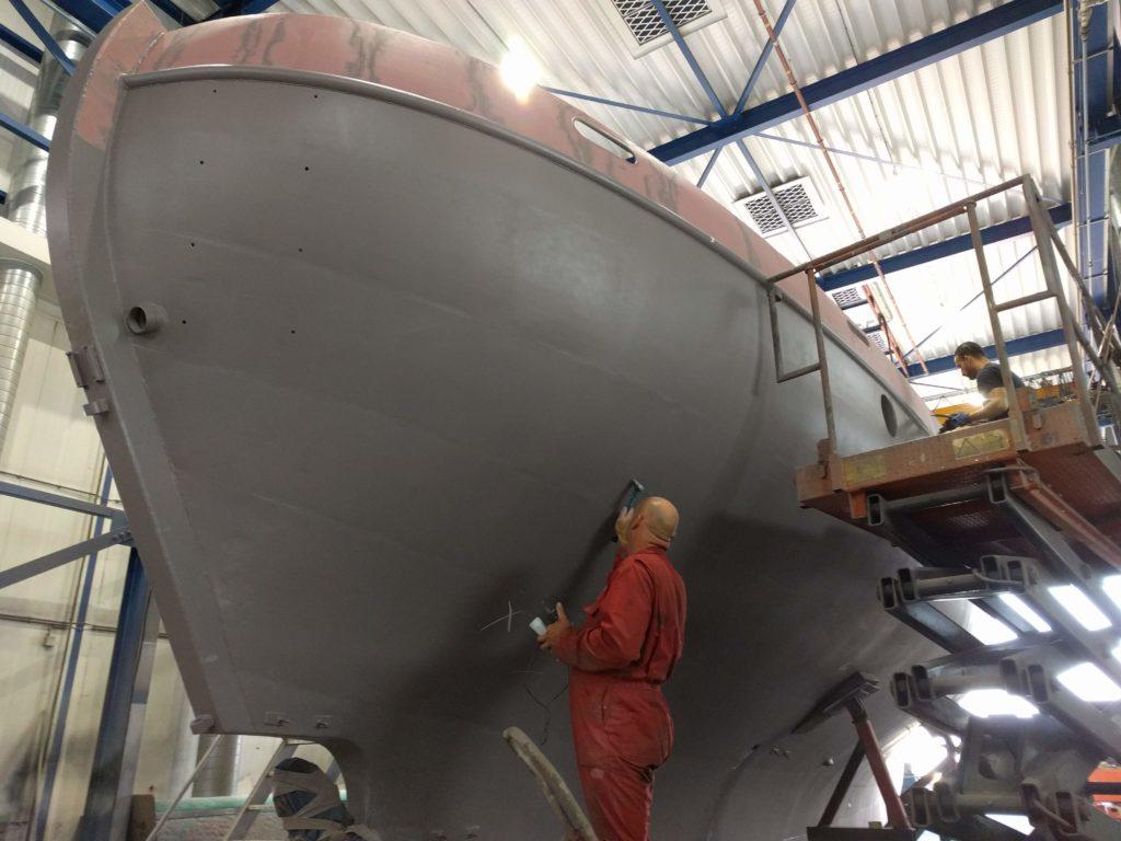 Baltic plamuurwerk Multiship zeilschip Colin Archer SeaWind Adventures