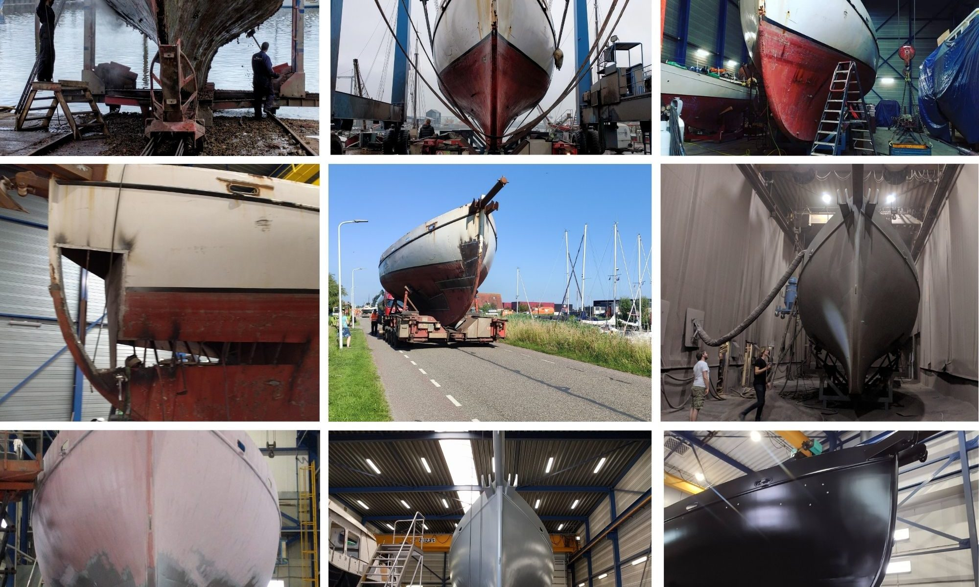 zeilschip Baltic refit colin archer