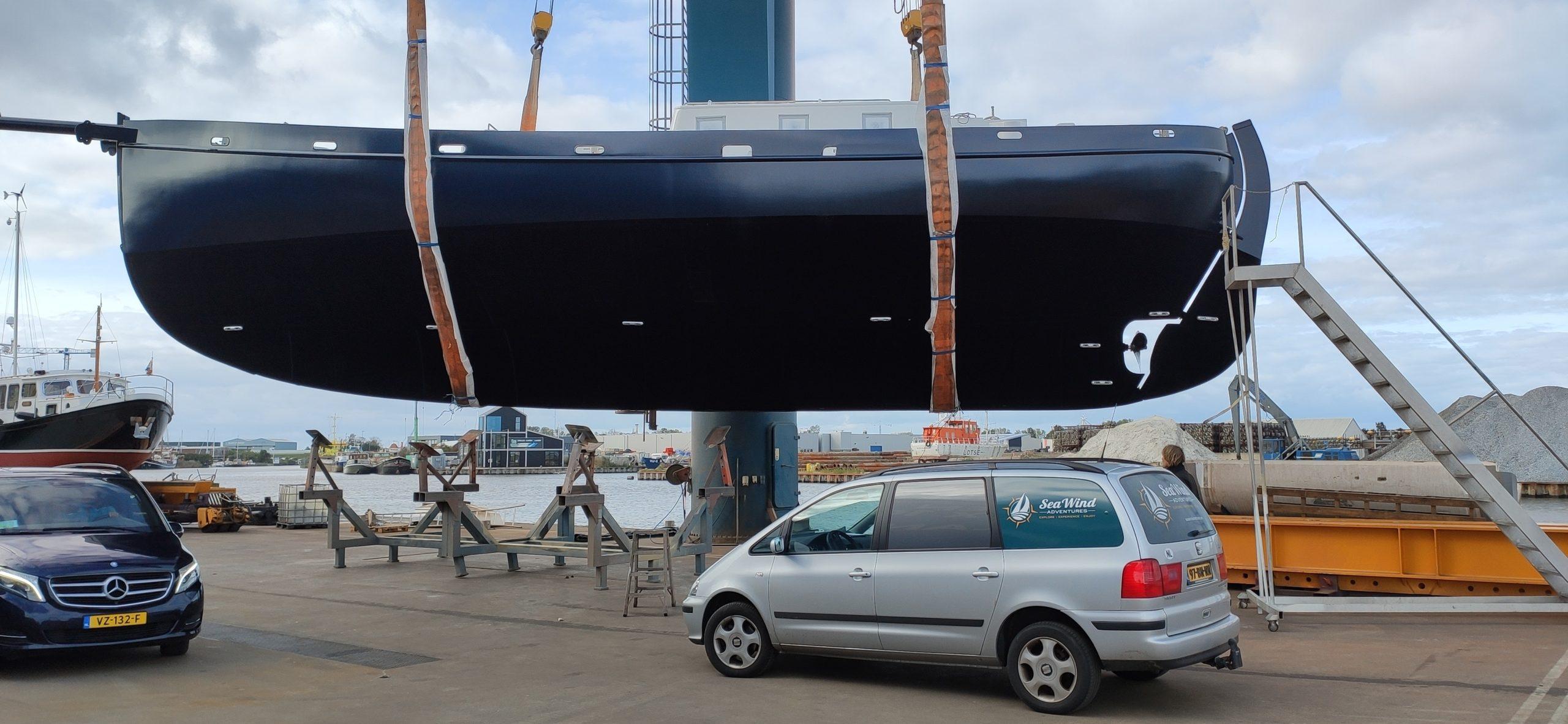 Baltic zeilschip Colin Archer werf Harlingen